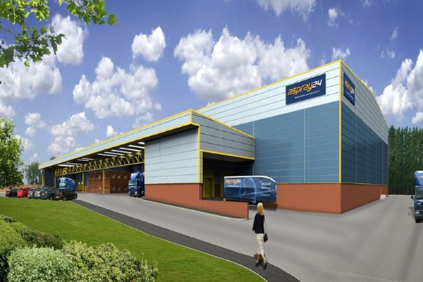 New Logistics Building For Aspray 24 - News - CWA - Eng