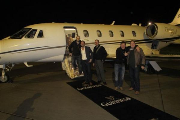 CWA Fly Guinness Class To Dublin - News - CWA - Eng
