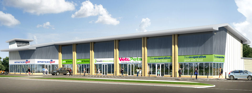 Hagley Road Retail Park - Retail - CWA - Eng