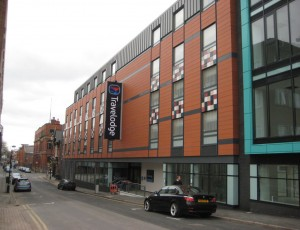Travelodge Hotel, Jewellery Quarter, Birmingham
