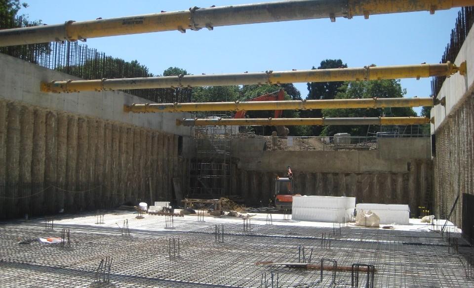 CWA Engineering - Subterranean Tennis Court - Structural & Civil Engineering