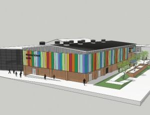 Moseley School Sports Hall, Birmingham