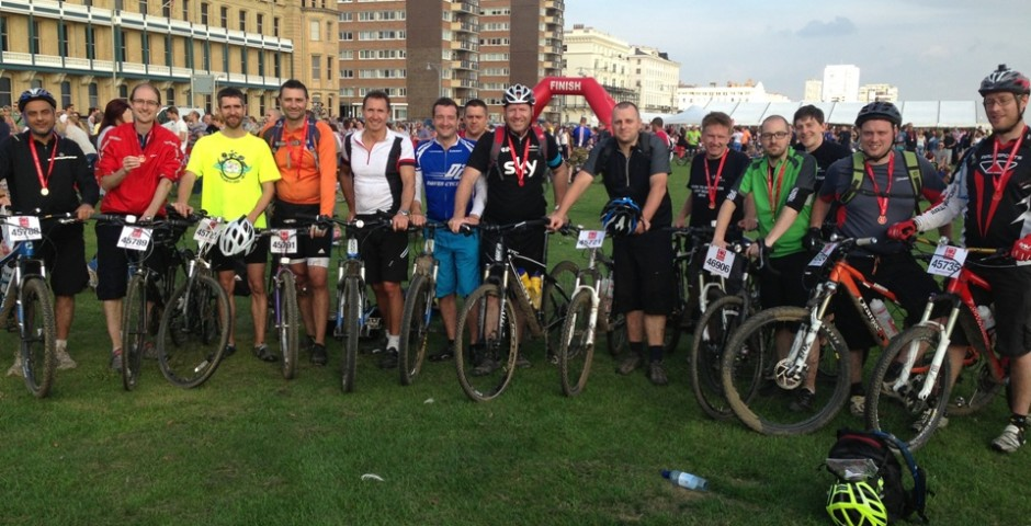 CWA - London to Brighton Cycle Ride - Structural & Civil Engineering
