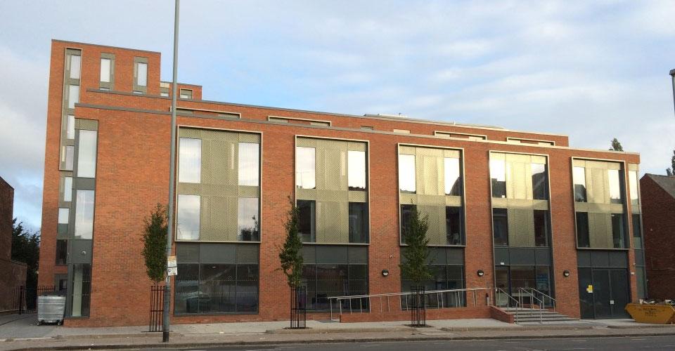 CWA Engineering - The Helix, Bristol Road – Student Accommodation
